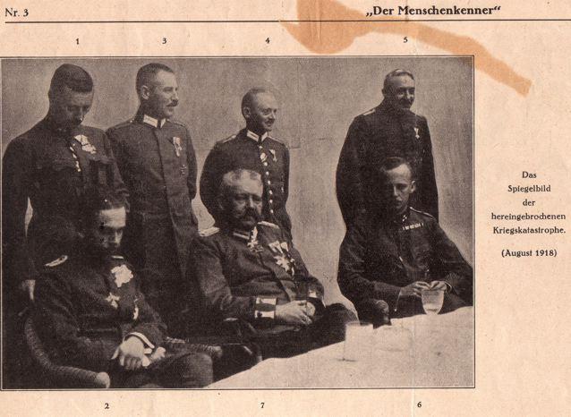 DgM 003 Hindenburg Offiziere Gruppenbild1918