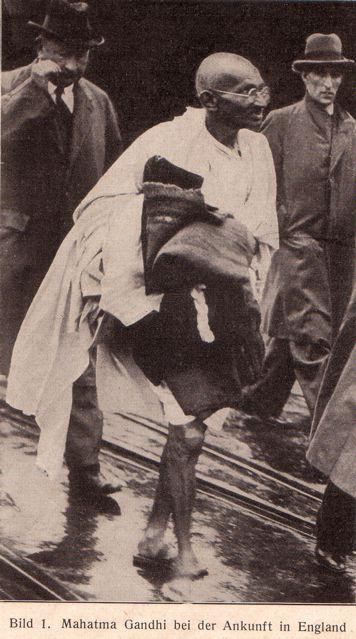 DgM 004 Ghandi EnglandAnkunft