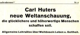 DgM006 Carl Huters WeltanschauungText