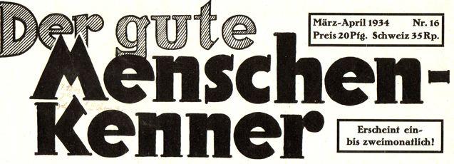 DgM 016 Titel 1934