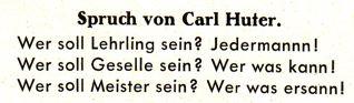 DgM 028 Spruch CarlHuter