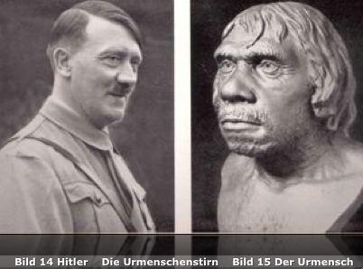 Hitler Urmenschenstirn
