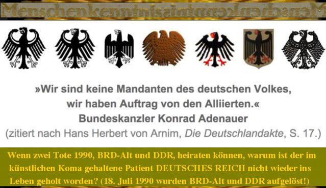 DR MK Alliierte Adenauer
