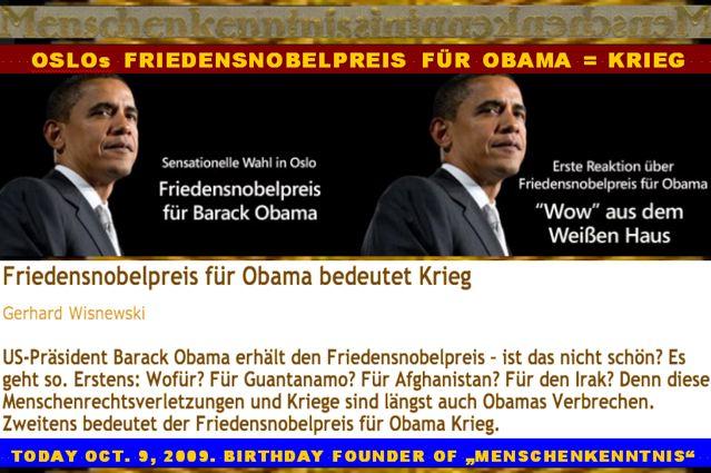 Obam Peace MK Krieg