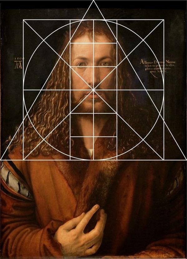 Dürer Selbstbildnis Im Pelzrock