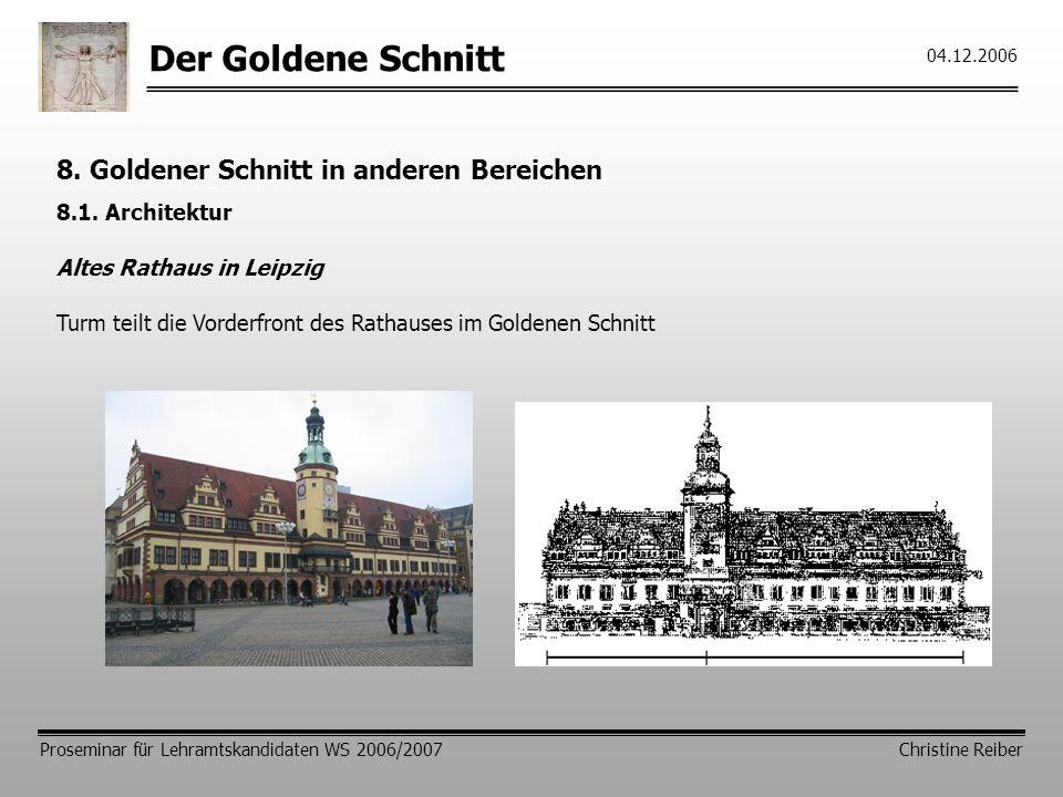 Der goldene schnitt physiognomische psychologie - Goldener schnitt in der architektur ...